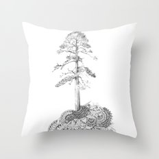 Quilted Forest I  Throw Pillow