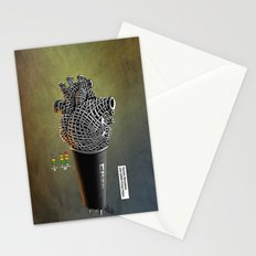 CRZN Dynamic Microphone - 003 Stationery Cards