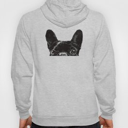 Peeking French Bulldog Hoody
