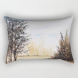 Across the Field Rectangular Pillow