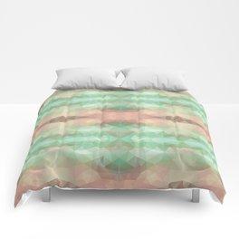 Mozaic design in soft pastel colors Comforters