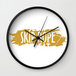 Rope Skipping Rope Gift Rope Skipping Sport Wall Clock