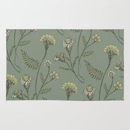 Dazed - Floral Pattern Rug