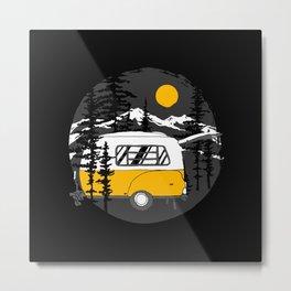Camper Van Metal Print