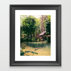 Poisson Palace Framed Art Print