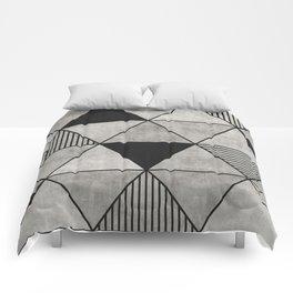 Concrete Triangles 2 Comforters