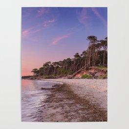 Solitude Beach Poster