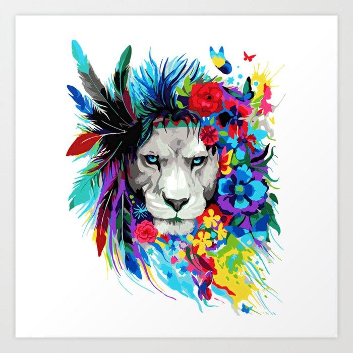 ART---LION Art Print