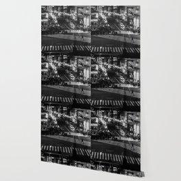 Shibuyacrossing at night - monochrome Wallpaper