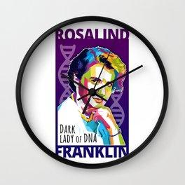 Rosalind Franklin Wall Clock