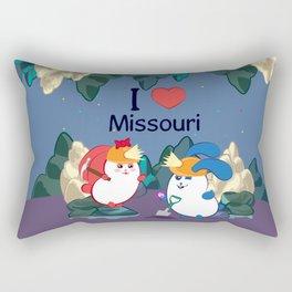 Ernest and Coraline | I love Missouri Rectangular Pillow
