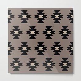 Southwestern Pattern 339 Metal Print
