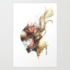 Zero Laser Art Print