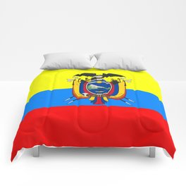 Flag of Ecuador Comforters