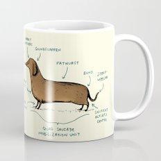 Anatomy of a Dachshund Mug
