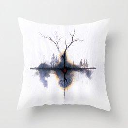 Signos Naturales son Siempre Señales Throw Pillow