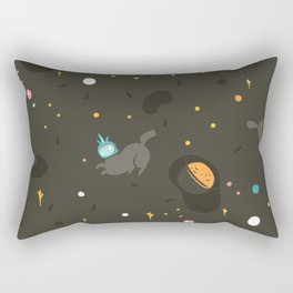 Space unicorn pattern Rectangular Pillow