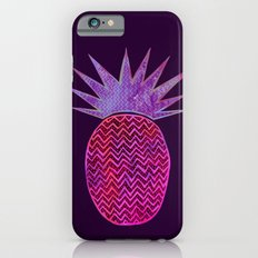Chevron Pineapple - Purple Slim Case iPhone 6s