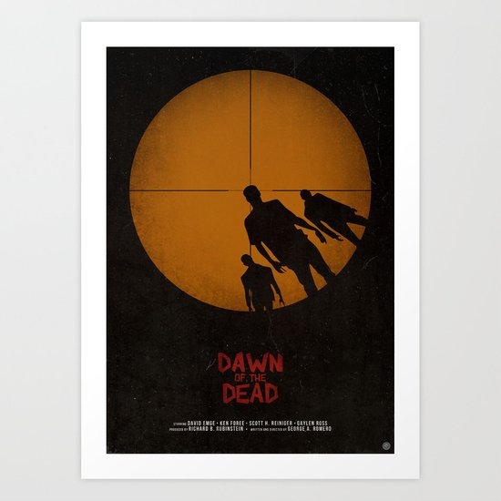 Dawn of the Dead Art Print