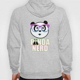 Panda Nerd Girl - Rainbow Hoody