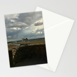 Mouette du Mont Saint Michel Stationery Cards