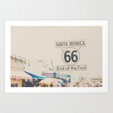 route 66 ... Art Print