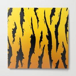 Tiger skin Metal Print