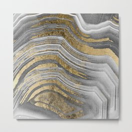 Abstract paint modern Metal Print