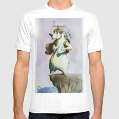 Looking for ice Mens Fitted Tee MEDIUM White