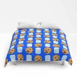 Milk & Cookies pattern Comforters