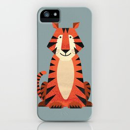 Whimsy Tiger iPhone Case