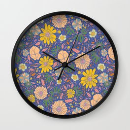 Saint Anthony Park Gardens (in bloom) Wall Clock