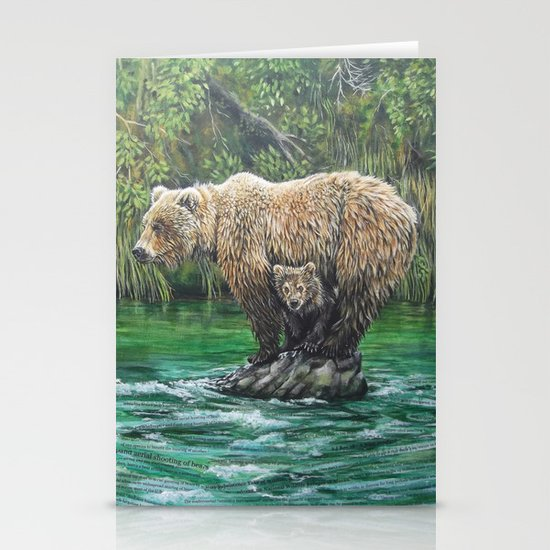 Bear Today, Gone Tomorrow? Stationery Cards