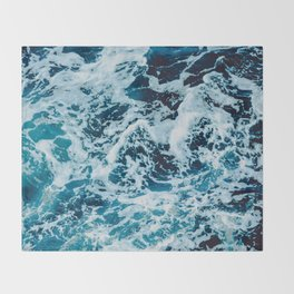 Lovely Seas Throw Blanket