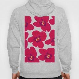 Red Retro Flowers #decor #society6 #buyart Hoody