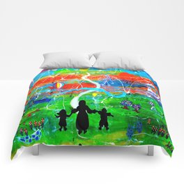 REACHING FOR THE STARS Comforters