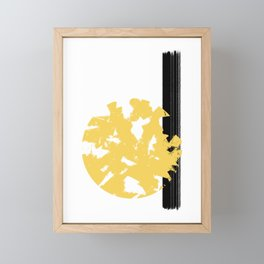 Abstract Sun #society6 #abstractart Framed Mini Art Print