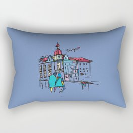 europe Rectangular Pillow