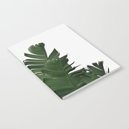 Minimal Banana Leaves Notebook