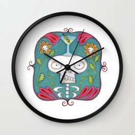 Skeletini Wall Clock