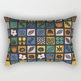 Shapes & Plants VI Rectangular Pillow