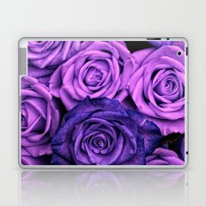 Purple Roses Laptop & iPad Skin