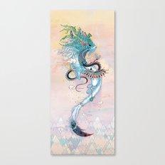 Journeying Spirit (ermine) Canvas Print