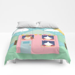 Doll House Comforters