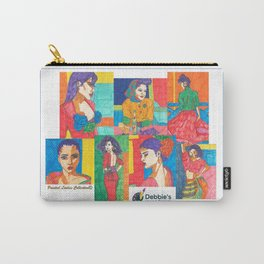 Painted Ladies Collection, Group I Carry-All Pouch