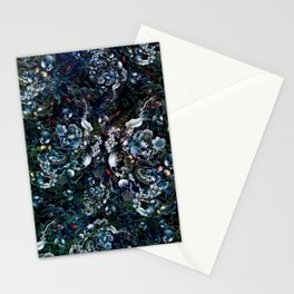 Night Garden Skulls Stationery Cards