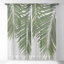 Palm Leaf II Sheer Curtain