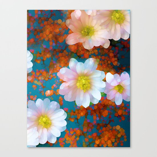 Happy As Can Be Canvas Print