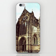 glasgow cathedral medieval cathedral iPhone & iPod Skin