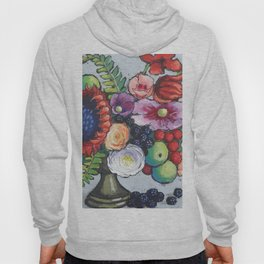 Red Sunflower Party Hoody